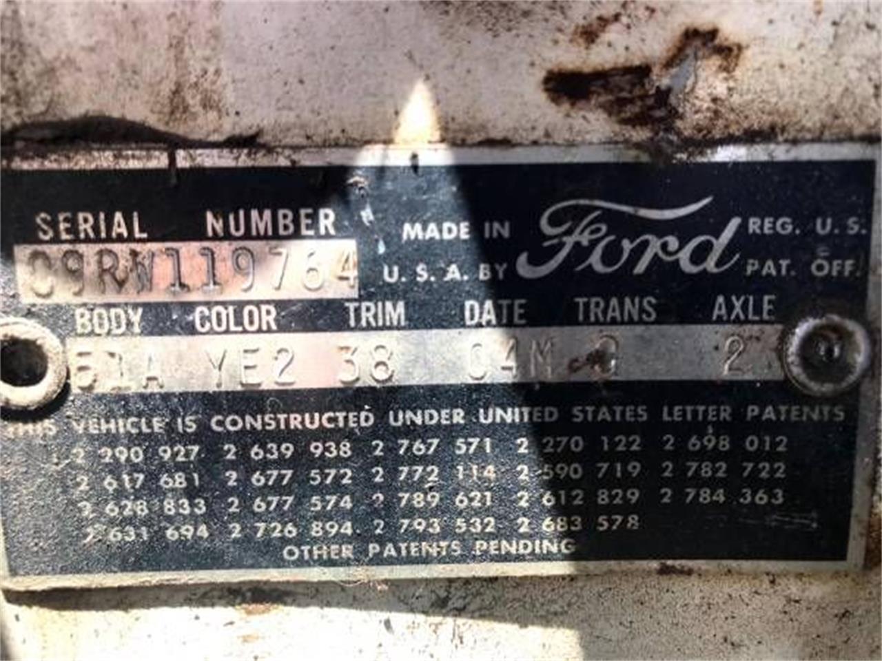 1959 Ford Fairlane (CC-1201504) for sale in Cadillac, Michigan