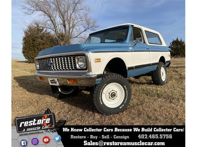 1972 Chevrolet Blazer (CC-1202251) for sale in Lincoln, Nebraska