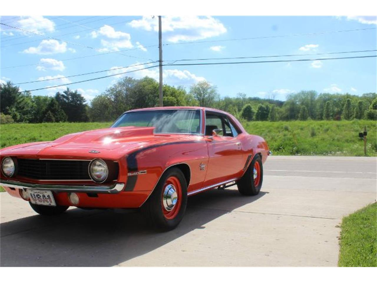1969 Chevrolet Camaro (CC-1202297) for sale in Cadillac, Michigan