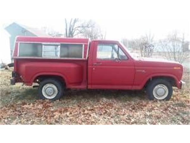 1980 Ford F100 (CC-1202367) for sale in Cadillac, Michigan