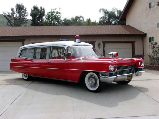 1963 Cadillac Ambulance (CC-1202528) for sale in Riverside, California