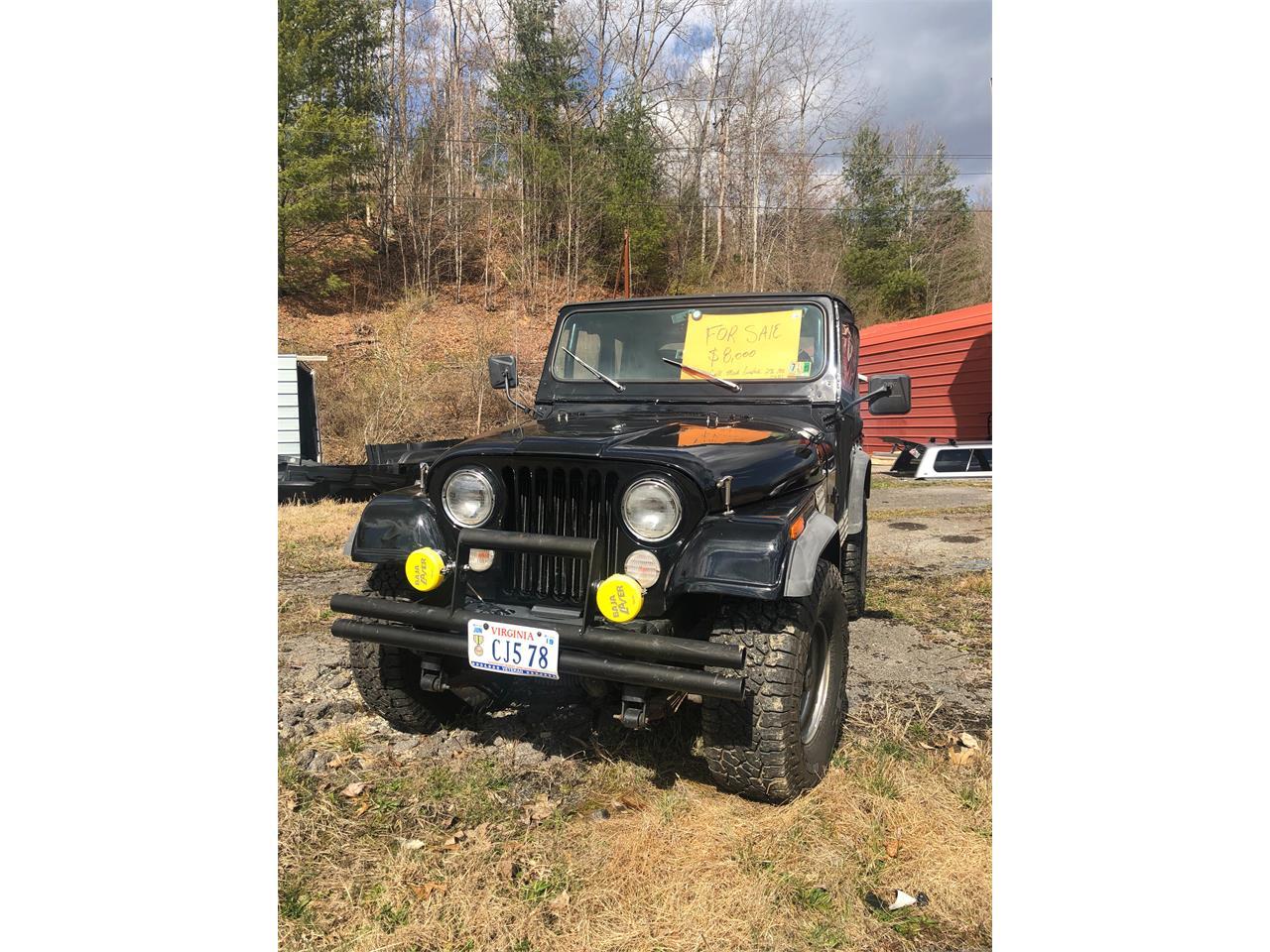 1978 Jeep CJ5 (CC-1200400) for sale in Coeburn, Virginia