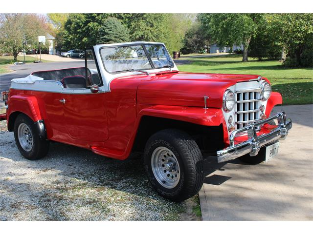 1950 Willys-Overland Jeepster (CC-1205116) for sale in Chillicothe, Illinois