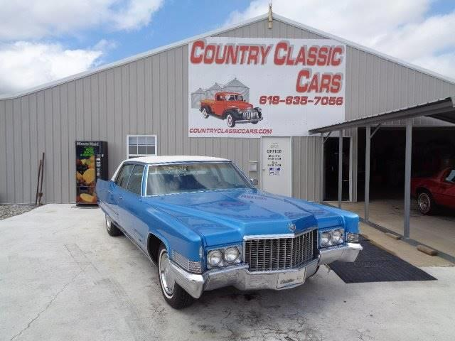 1970 Cadillac Fleetwood Brougham (CC-1205186) for sale in Staunton, Illinois