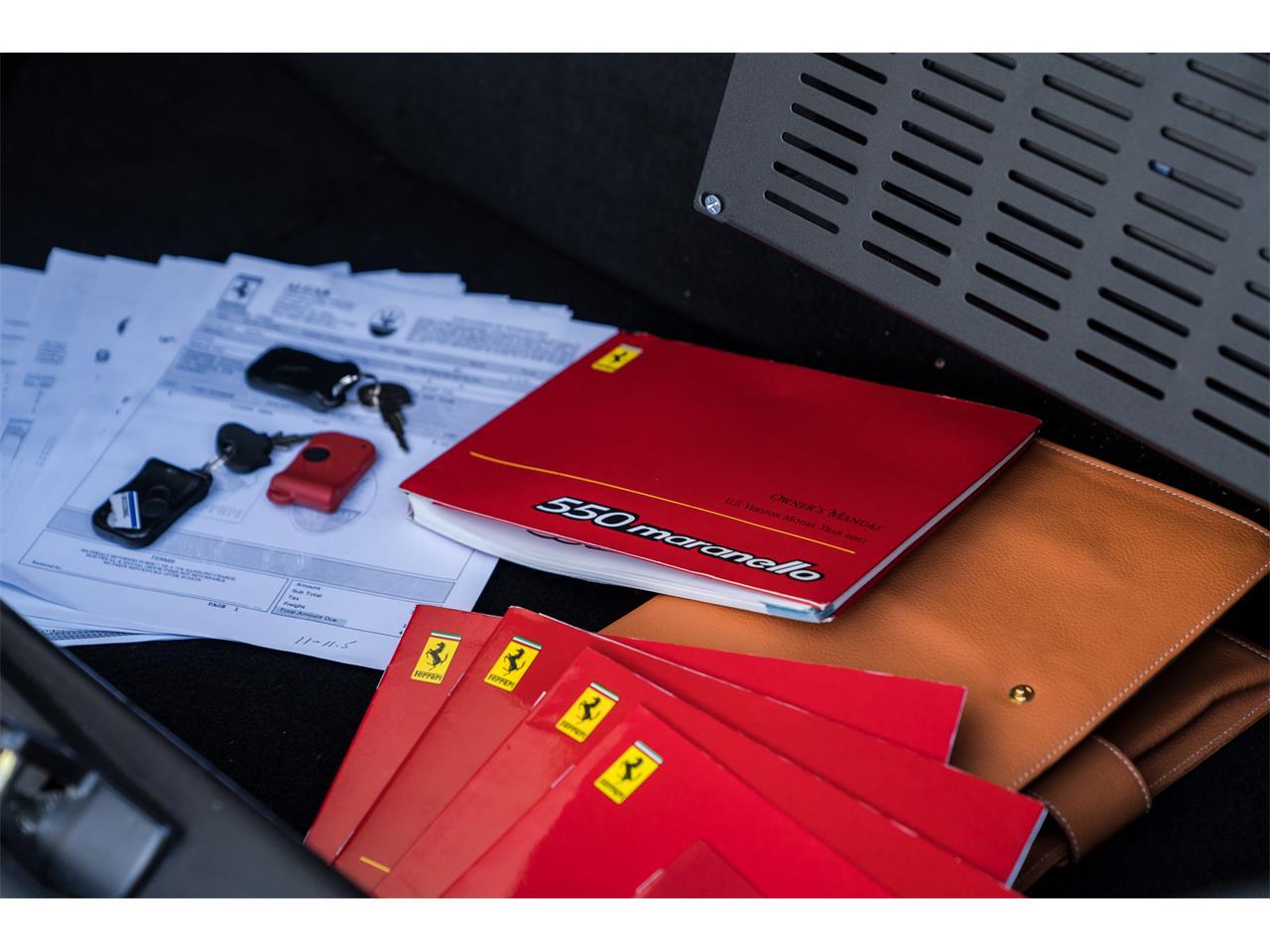 2001 Ferrari 550 Maranello (CC-1205581) for sale in Pontiac, Michigan
