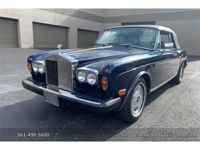 1983 Rolls-Royce Corniche (CC-1205744) for sale in BOCA RATON, Florida
