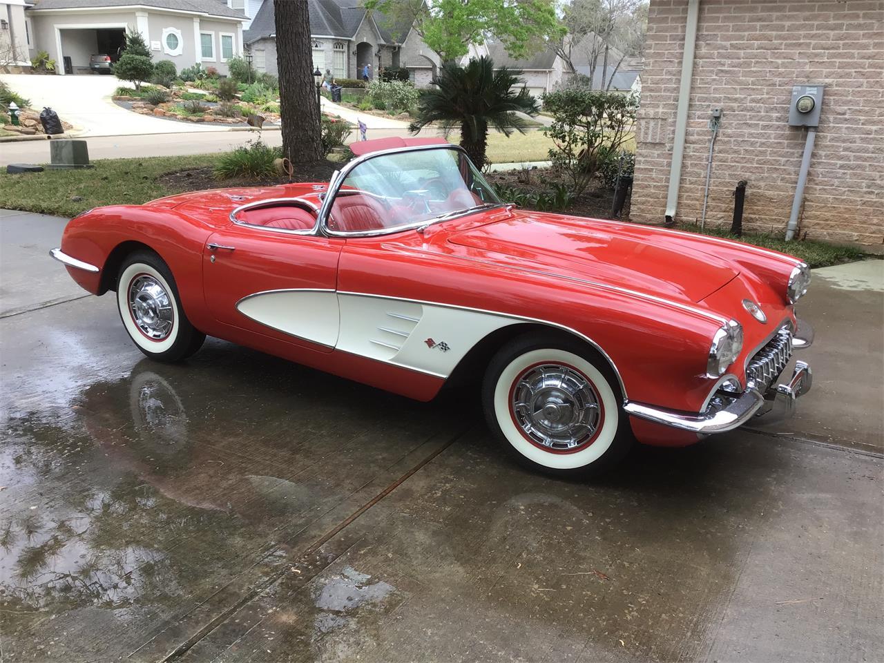 1960 Chevrolet Corvette (CC-1205787) for sale in Montgomery , Texas