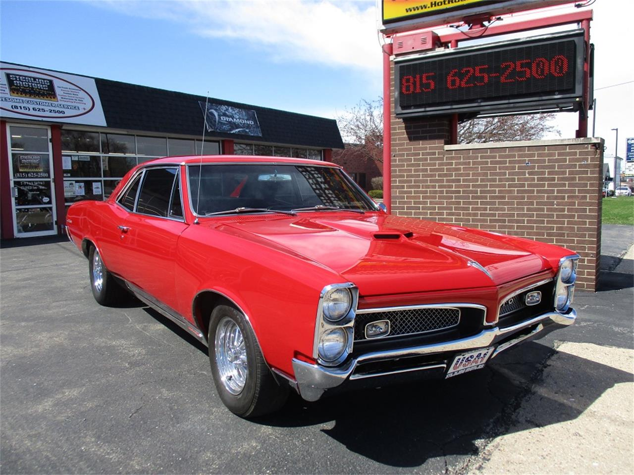 1967 Pontiac GTO (CC-1206165) for sale in Sterling, Illinois