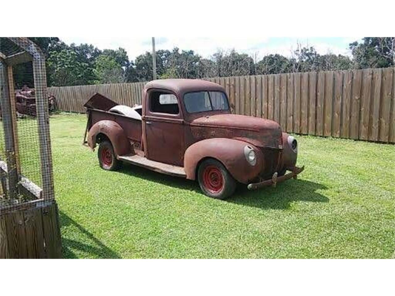 1940 Ford Pickup (CC-1200621) for sale in Cadillac, Michigan