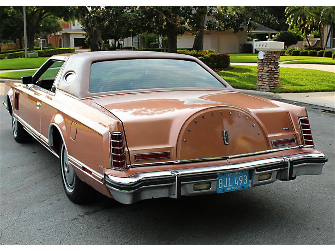 1978 Lincoln Mark V (CC-1206563) for sale in Lakeland, Florida