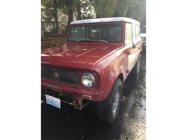1967 International Scout (CC-1207190) for sale in Cadillac, Michigan