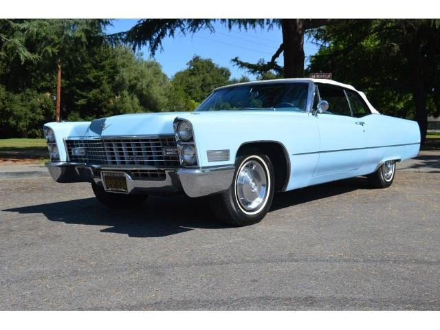 1967 Cadillac DeVille (CC-1207305) for sale in San Jose, California