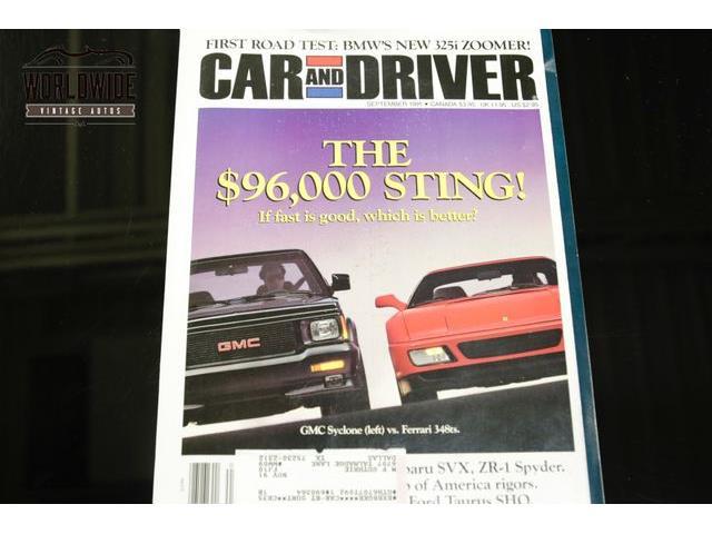 1991 Gmc Syclone For Sale Classiccars Com Cc 1207470