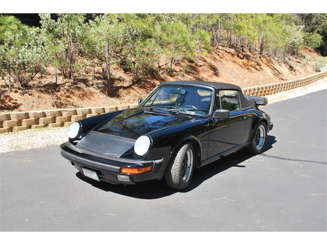 1987 Porsche 911 Carrera 4 Cabriolet (CC-1208009) for sale in sonora, California