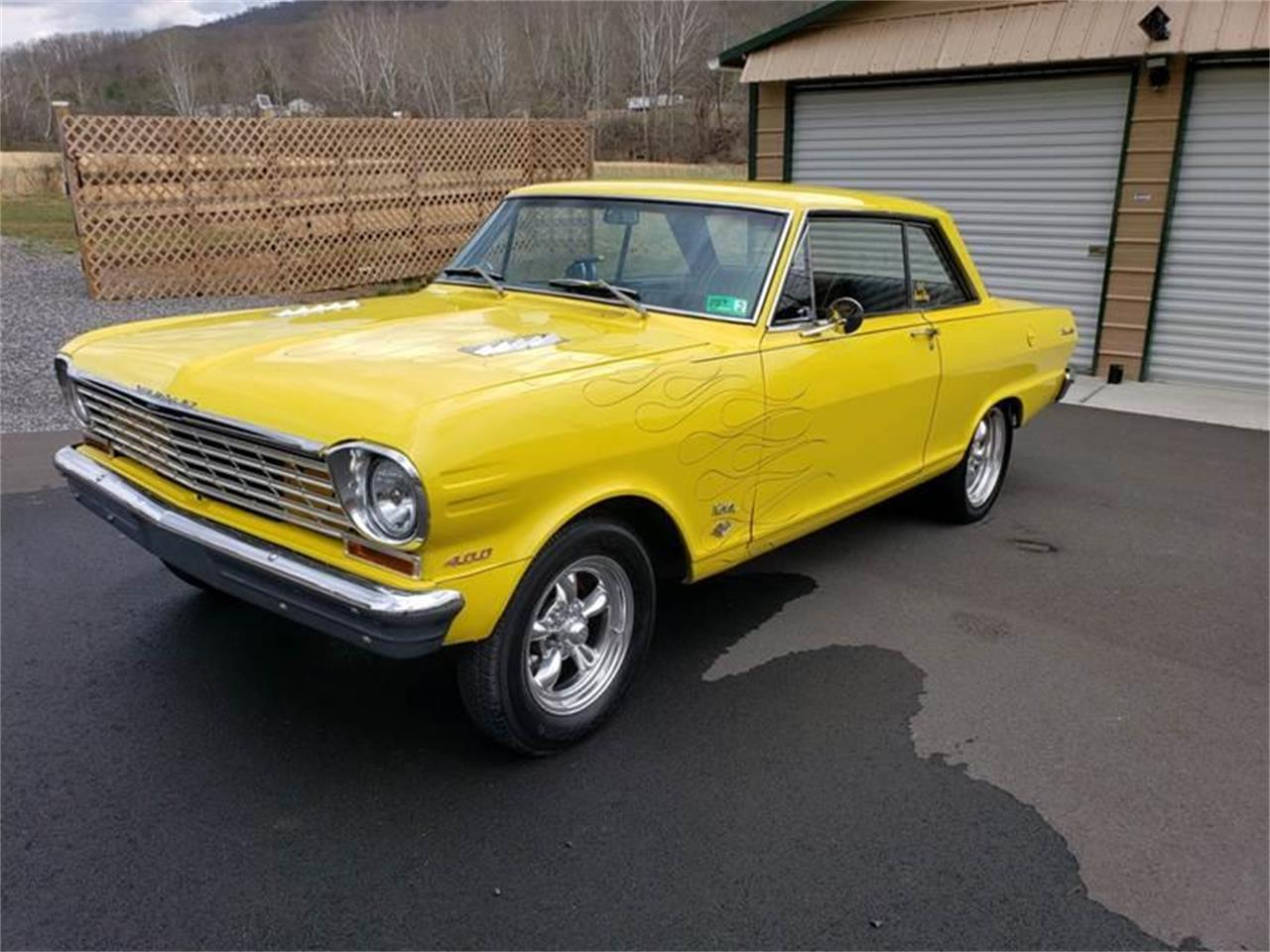 1963 Chevrolet Nova SS (CC-1208227) for sale in Clarksburg, Maryland