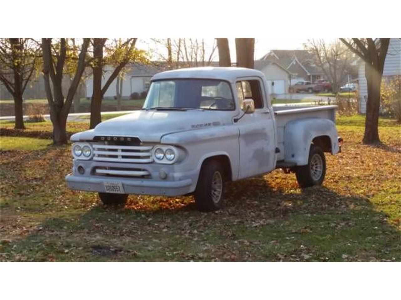 1960 Dodge D100 (CC-1209248) for sale in Cadillac, Michigan