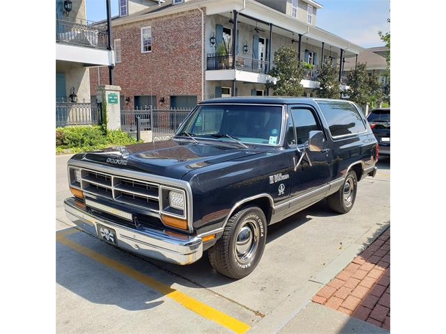 1987 Dodge Ramcharger (CC-1200976) for sale in Covington, Louisiana