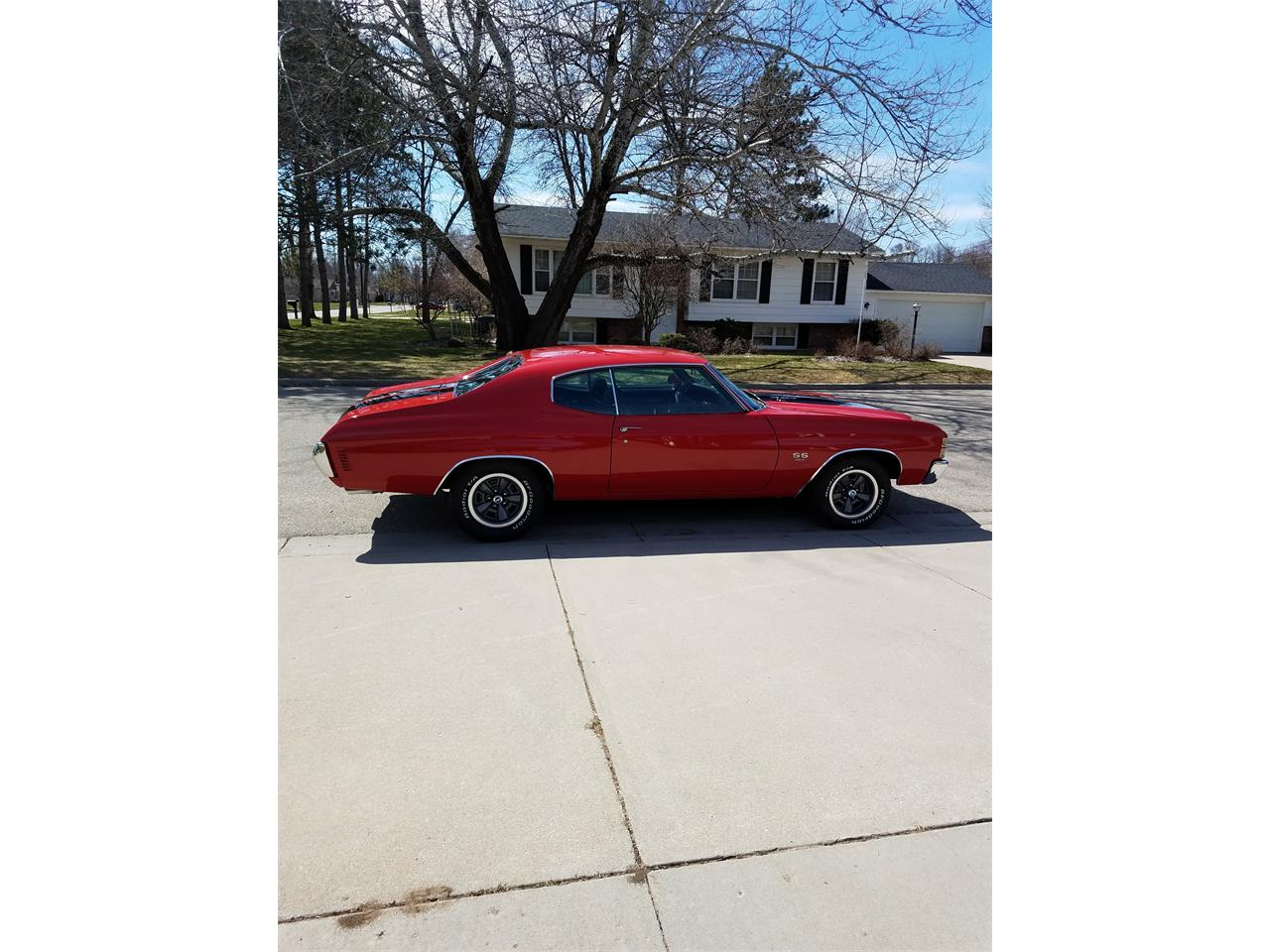 1971 Chevrolet Chevelle Malibu SS (CC-1211090) for sale in Menominee, Michigan