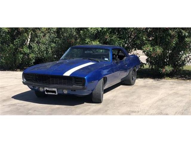 1969 Chevrolet Camaro (CC-1211571) for sale in Cadillac, Michigan