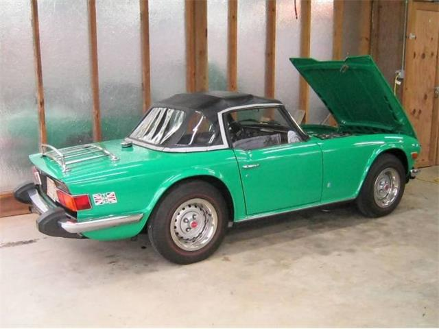1976 Triumph TR6 (CC-1211577) for sale in Cadillac, Michigan