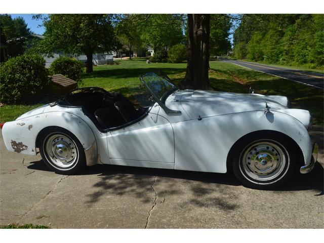 1956 Triumph TR3 (CC-1211919) for sale in Mooresville, North Carolina