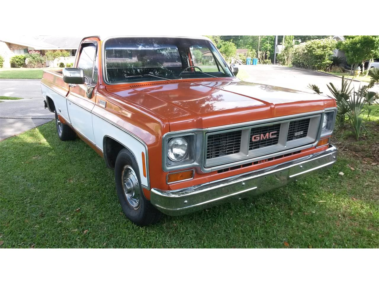 1974 Gmc Sierra Grande For Sale Classiccars Com Cc 1211923