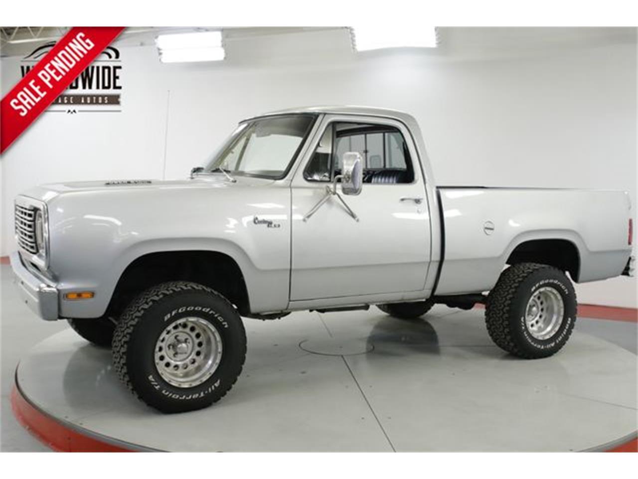 1978 Dodge Power Wagon For Sale Classiccars Com Cc 1211970