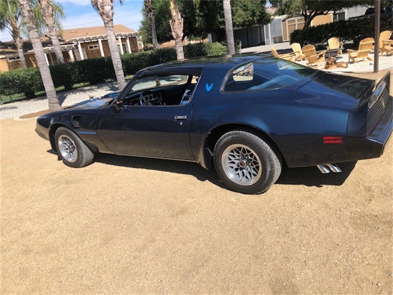 1981 Pontiac Firebird Trans Am (CC-1212106) for sale in Menifee, California