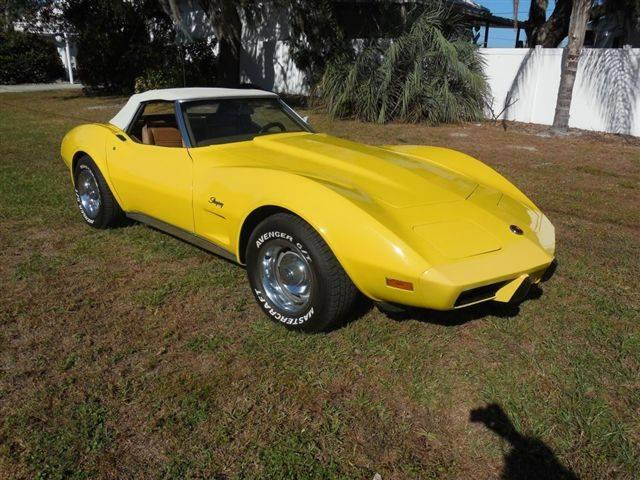 1975 Chevrolet Corvette (CC-1212513) for sale in Sarastoa, Florida