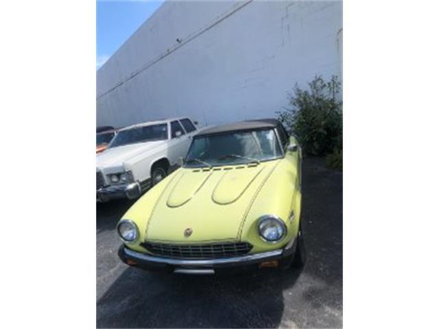 1978 Fiat Spider (CC-1212958) for sale in Miami, Florida
