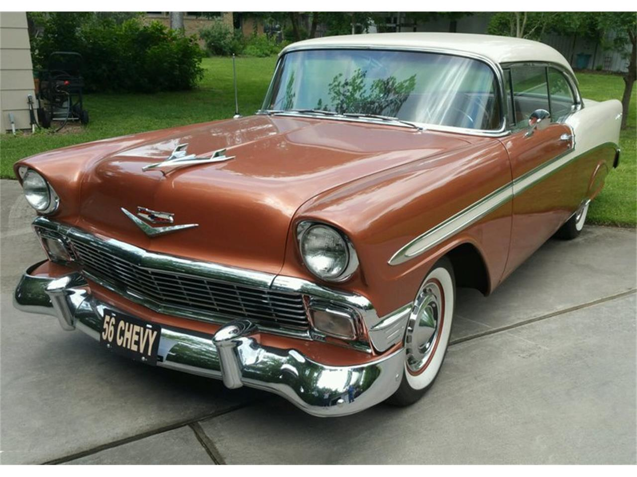 1956 Chevrolet Bel Air (CC-1213018) for sale in Tulsa, Oklahoma