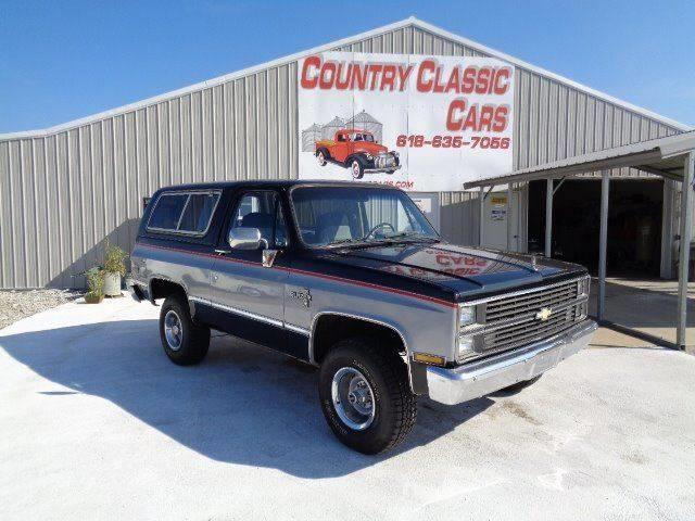 1983 Chevrolet Blazer (CC-1213476) for sale in Staunton, Illinois