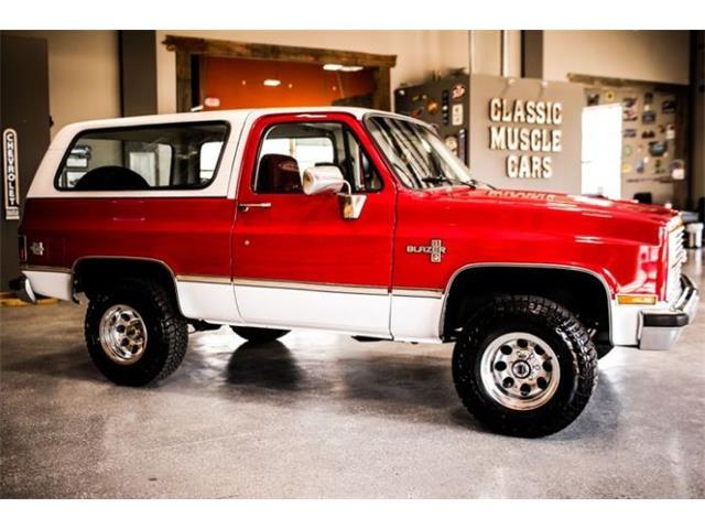 1984 Chevrolet Blazer (CC-1213716) for sale in Cadillac, Michigan
