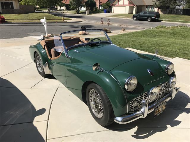 1958 Triumph TR3A (CC-1213942) for sale in Grand Terrace, California