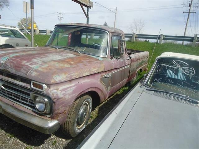 1966 Ford F100 (CC-1216329) for sale in Jackson, Michigan