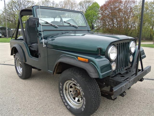 1980 Jeep CJ5 (CC-1216366) for sale in Jefferson, Wisconsin