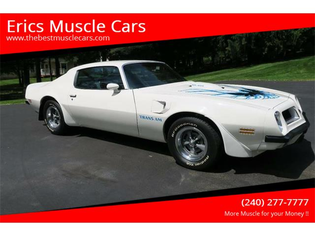 1974 Pontiac Firebird Trans Am (CC-1216647) for sale in Clarksburg, Maryland