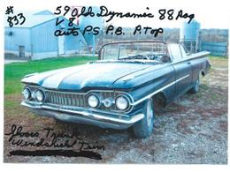 1958 Oldsmobile Dynamic 88 (CC-1217304) for sale in Cadillac, Michigan