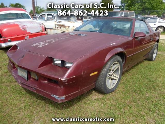 1983 Chevrolet Camaro (CC-1217369) for sale in Gray Court, South Carolina
