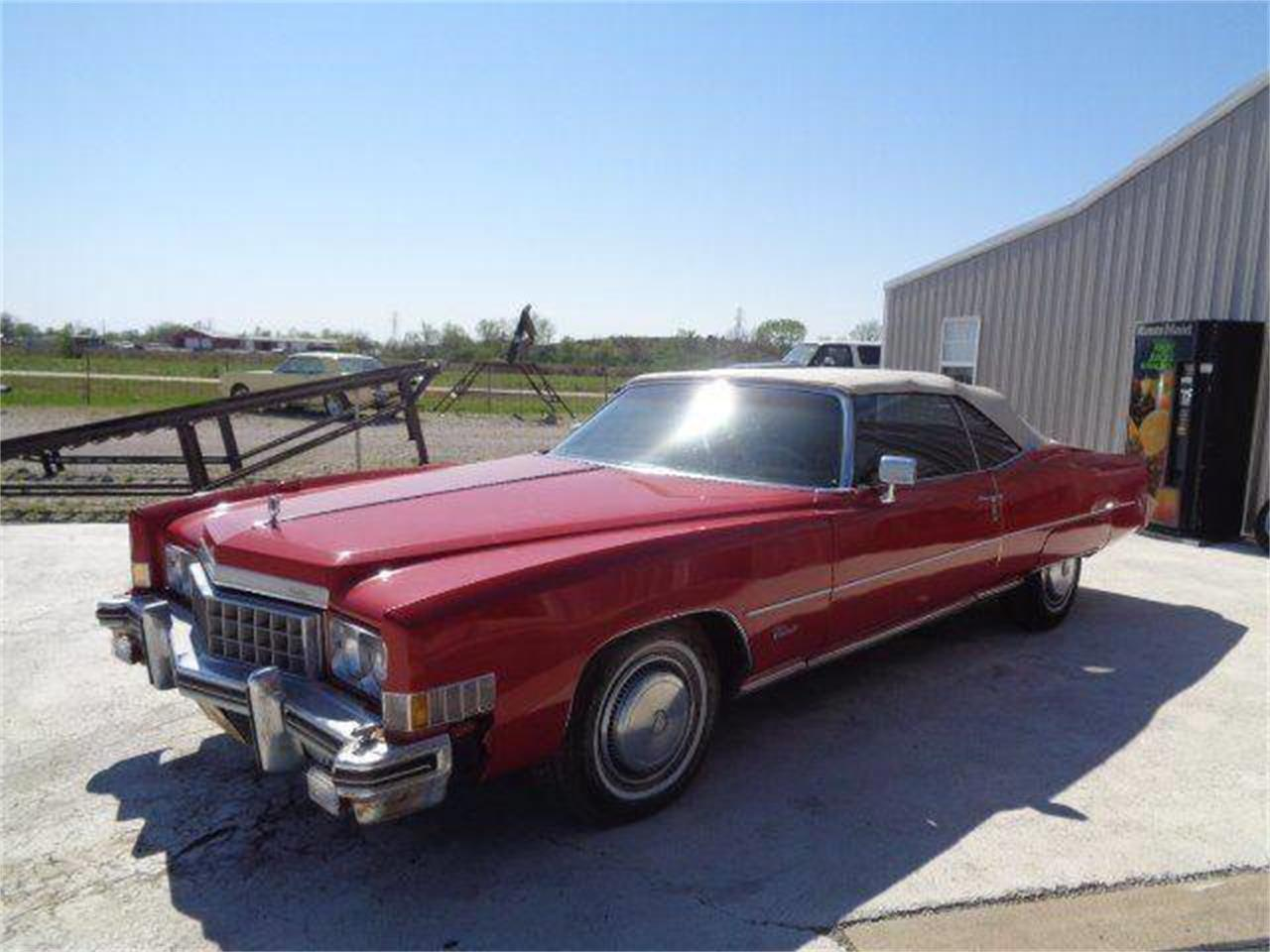 1973 Cadillac Eldorado (CC-1217391) for sale in Staunton, Illinois