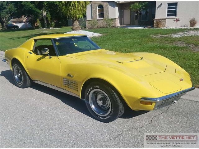 1970 Chevrolet Corvette (CC-1217421) for sale in Sarasota, Florida