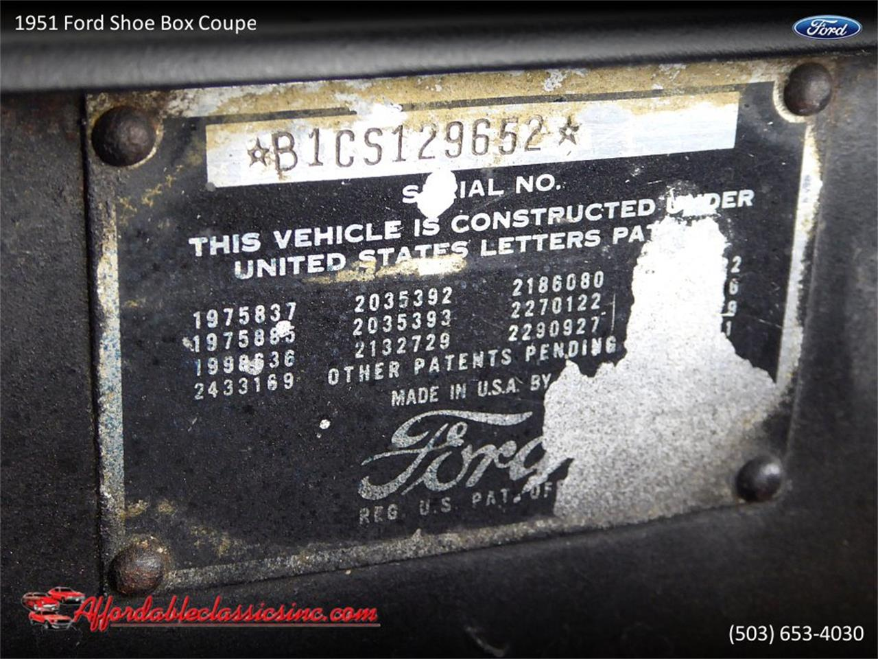 1951 Ford Coupe (CC-1217603) for sale in Gladstone, Oregon