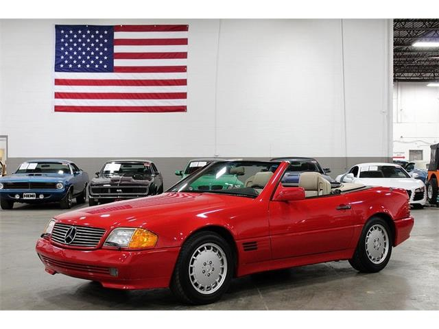 1992 Mercedes-Benz SL500 (CC-1217631) for sale in Kentwood, Michigan