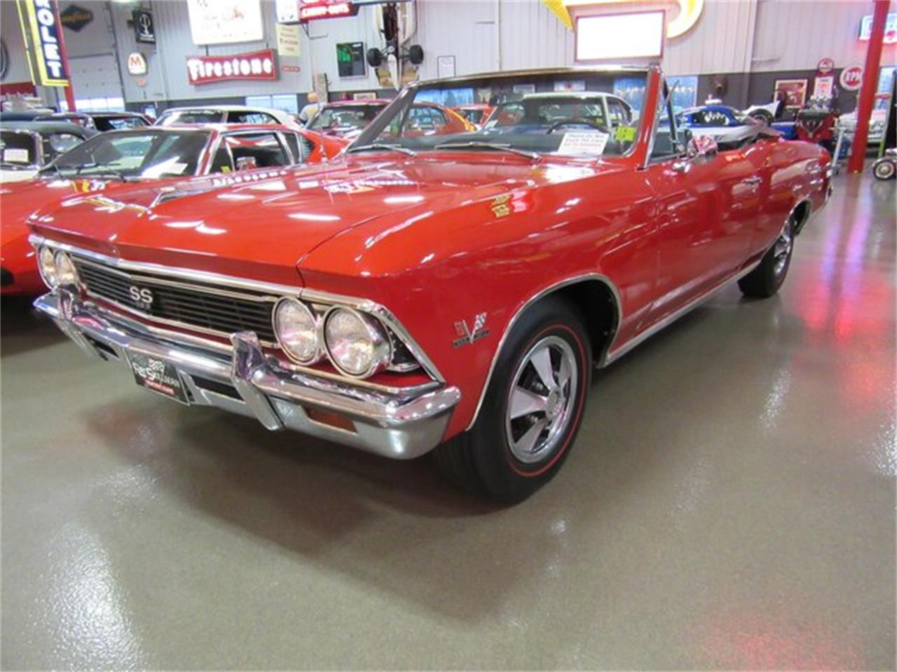 1966 Chevrolet Chevelle Malibu SS (CC-1217771) for sale in Greenwood, Indiana