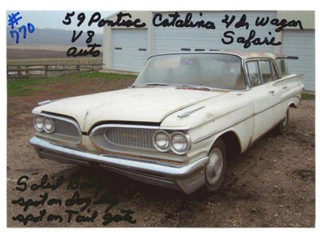 1959 Pontiac Catalina (CC-1217799) for sale in Cadillac, Michigan