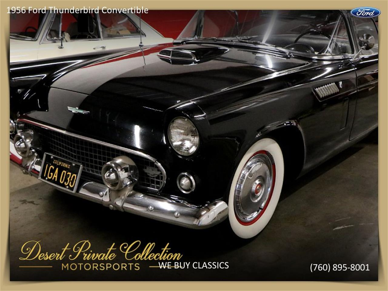 1956 Ford Thunderbird (CC-1218363) for sale in Palm Desert , California