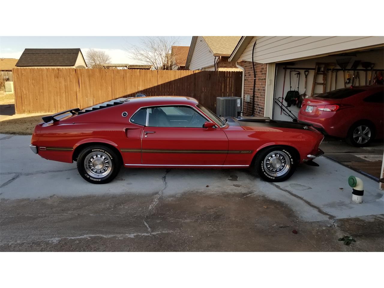 1969 Ford Mustang Mach 1 (CC-1210845) for sale in Edmond, Oklahoma