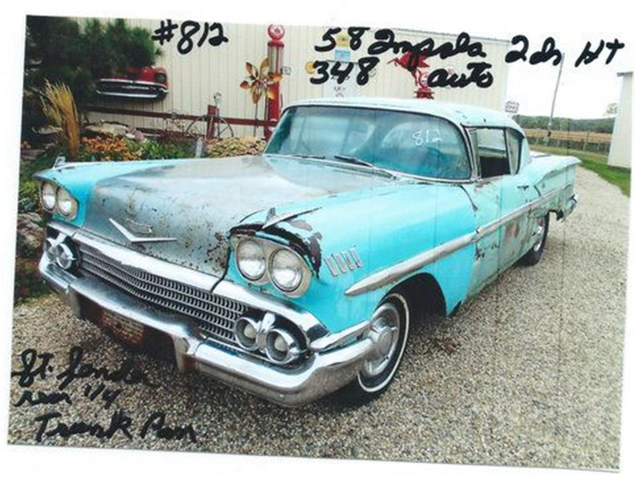 1958 Chevrolet Impala (CC-1218663) for sale in Cadillac, Michigan