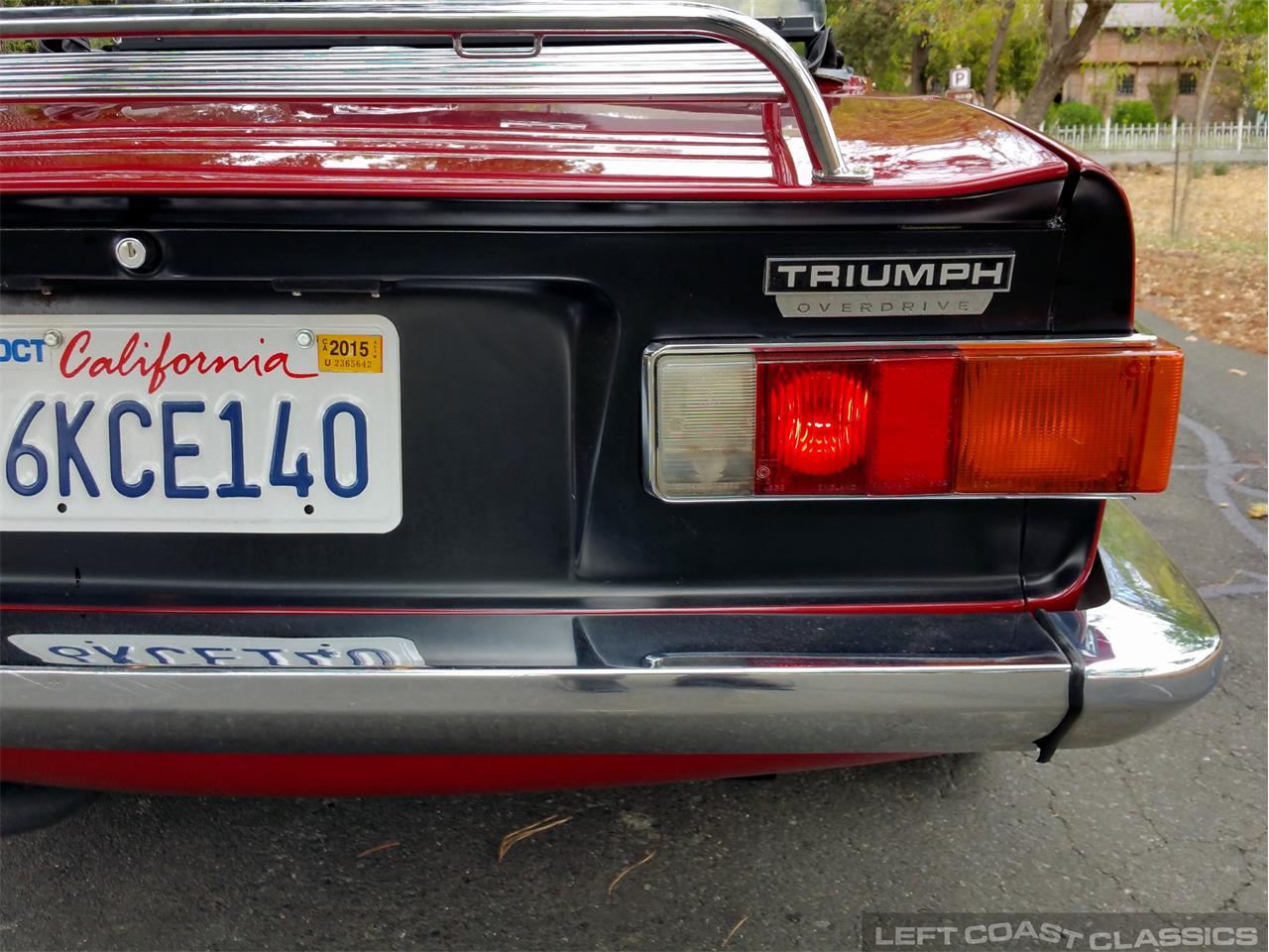 1973 Triumph TR6 (CC-1218891) for sale in Sonoma, California