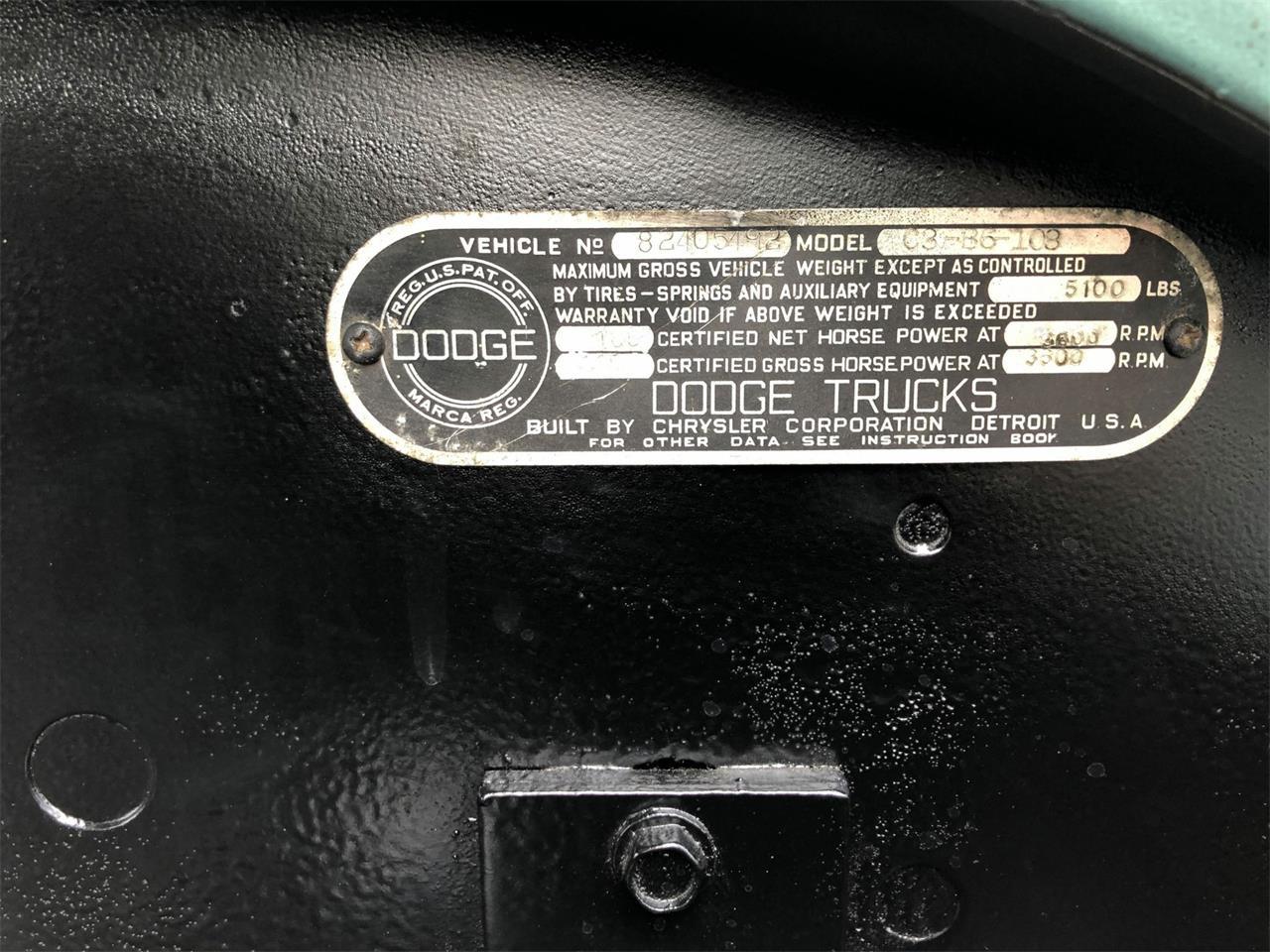 1956 Dodge Truck (CC-1219383) for sale in Maple Lake, Minnesota